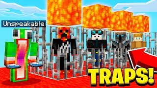 Download SAVING FAMOUS YOUTUBERS FROM TRAPS! Video