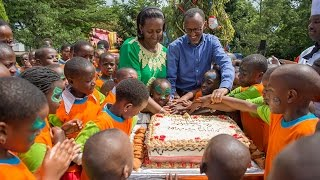 Download PRESIDENT KAGAME & FIRST LADY HOST END OF YEAR CHILDREN'S PARTY Video