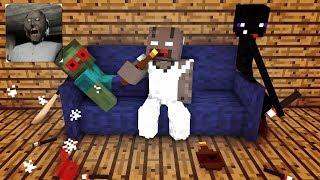 Download Monster School: GRANNY HORROR GAME CHALLENGE - Minecraft Animation Video