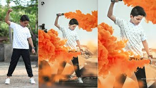 Download photo editing in photoshop | smoke bomb Video