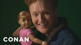 Download Conan Visits The American Girl Store Video