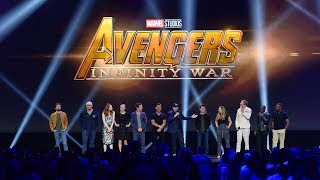 Download HUGE Avengers: Infinity War cast gathering for Marvel panel at the D23 Expo 2017 Video