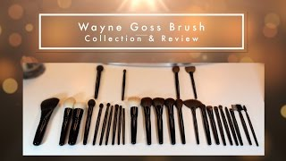 Download Entire Wayne Goss Brush Collection & Review | How I wash luxury brushes Video