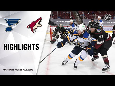 Blues @ Coyotes 4/17/21 | NHL Highlights