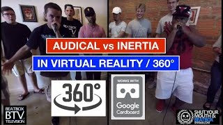 Download Audical vs Inertia / VR 360° Beatbox Battle Video