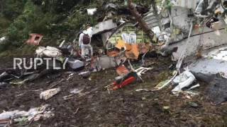 Download Colombia: Search operation continues at plane crash site Video