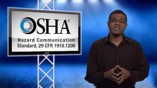 Download OSHA Revised Hazard Communication Standard Training - View by December 1, 2013 Video