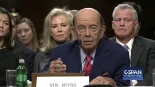 Download Commerce Secretary Nominee Wilbur Ross Opening Statement (C-SPAN) Video
