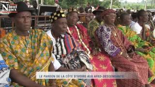 Download LA ROUTE DE L'ESCLAVE - LE PARDON DE LA CÔTE D'IVOIRE AUX AFRO DESCENDANTS Video