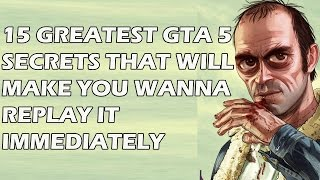 Download 15 Greatest GTA 5 Secrets That Will Make You Wanna Replay It Immediately Video
