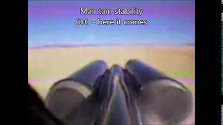 Download ThrustSSC run 61 (supersonic) tail view with subtitles and extra information Video