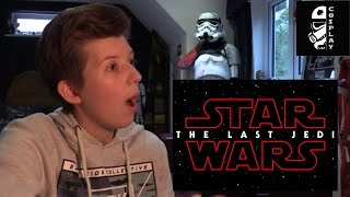 Download Star Wars The Last Jedi Teaser Trailer Reaction + Discussion Video
