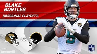 Download Blake Bortles Helps Jags Defeat Pittsburgh! | Jaguars vs. Steelers | Divisional Player HLs Video