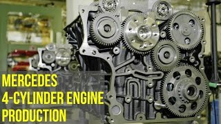 Download Mercedes 4-Cylinder Engine Production Video