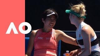 Download Elina Svitolina shows love to Shuai Zhang after a devastating loss (3R) | Australian Open 2019 Video