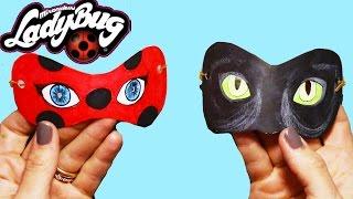 Download Mucize Uğur Böceği ile Kara Kedi Maskesi | Nasıl Yapılır | Boya Boya Video
