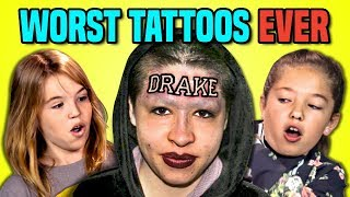 Download 10 WORST TATTOOS EVER (REACT) Video