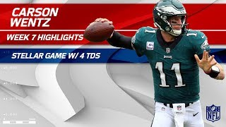 Download Carson Wentz's MVP Performance w/ 4 TDs! 🏆 | Redskins vs. Eagles | Wk 7 Player Highlights Video