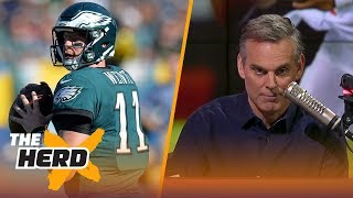 Download Would Carson Wentz or Deshaun Watson have saved the Cleveland Browns? | THE HERD Video
