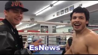 Download Julio Cesar Chavez Jr: I Beat Fighters Bigger Than Canelo - EsNews Boxing Video