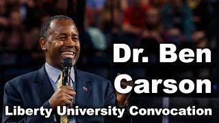 Download Dr. Ben Carson - Liberty University Convocation Video
