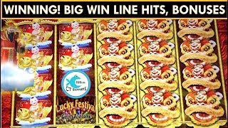 Download Lucky Festival Slot Machine * Good Fortune * Big Wins with Friends! Video