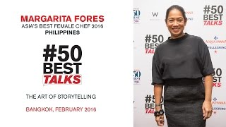 Download Chef Margarita Fores on The Art of Storytelling at #50BestTalks Asia Video