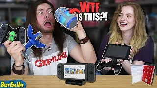 Download My Girlfriend Buys My WEIRD Nintendo Switch Accessories, AGAIN! Video