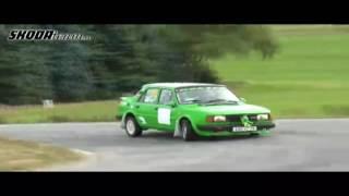 Download Škoda 130 rally ( Hrášek ) Rally sraz běšiny podzim 2016 Čínov Video