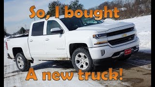 Download I bought a new 2018 Chevy Silverado 1500 Crew Cab Truck - Review! Video