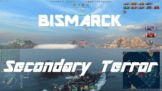 Download The Hilarious Secondary-build Bismarck [Bonus - Bismarck vs Tirpitz] Video