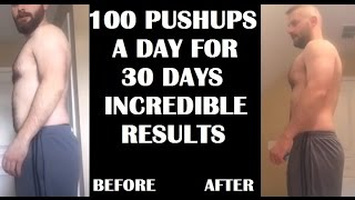 Download 100 Pushups A Day For 30 Days CHALLENGE - Results Video