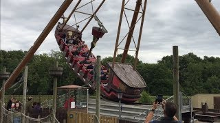 Download The Flying Cutlass Pirate Ship ride Lightwater Valley Video