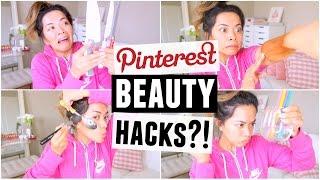Download Pinterest Beauty Hacks TESTED! Video