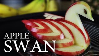 Download How to Make an Edible Apple Swan! Video