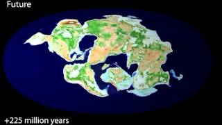 Download 240 million years ago to 250 million years in the future Video