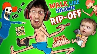 Download WALK LIKE SHAWN Video Game Rip-Off?! FGTEEV HILARIOUS Funny Fails w/ Manual Samuel the DOOFY ZOMBIE Video