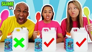 Download SLIME CHALLENGE!! Who's The Best You Decide? Parents Edition Video
