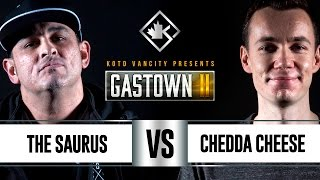 Download KOTD - Rap Battle - The Saurus vs Chedda Cheese | #GSTN2 Video