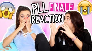 Download PRETTY LITTLE LIARS SEASON 7 FINALE REACTION *A.D. REVEALED* Video