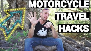 Download Hacks For Long Distance Motorcycle Travel and Camping Video