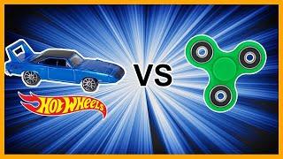 Download MUSCLE CARS vs FIDGET SPINNERS - Hot Wheels Video