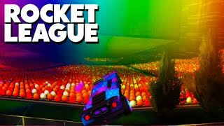 Download MODDED Rocket League - GLITCHING OUT OF THE MAP! Video