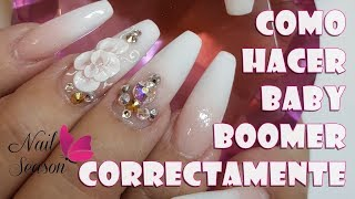 Download Uñas baby boomer Perfectas - Como hacer estas uñas acrilicas correctamente Video