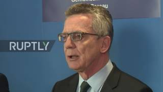 Download Germany: Espionage is 'punishable' warns IntMin following Turkey spy claims Video