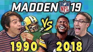 Download MADDEN NFL - Old VS. New (Madden '19 vs Madden 1990) (React) Video