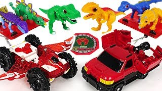 Download Take medals and transform! Dino Mecard Capture car Pteria, Militra and Giganoto! #DuDuPopTOY Video