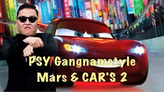 Download Cars 2 GANGNAMSTYLE Mater's Lightning McQueen kids movie Kinderfilm ビデオ子供の 视频儿童车 1080p Video