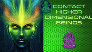 Download Contact Higher Dimensional Beings Fast! Subliminal Subsconsious Hypnosis Binaural Beat Meditation Video