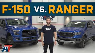 Download Ford Ranger Vs F150 | How Does The Ford Ranger Compare to The F150? Video